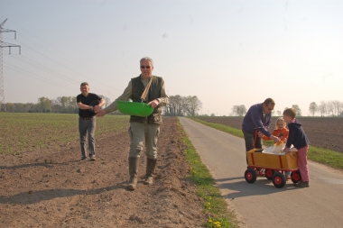2011 Ackerrandstreifen Aussaat Rechte Fr. Keller