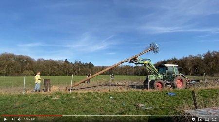 Youtube Video der Errichtung des Nestes